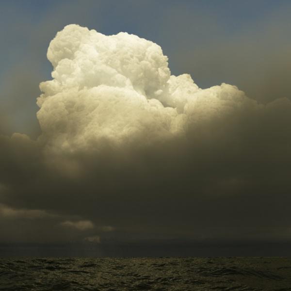 Storm scene rendered in Terragen