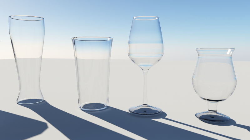 Terragen 3.2 glass shader