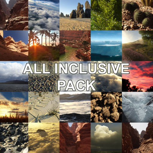 All inclusive pack Luc Bianco's Terragen resources