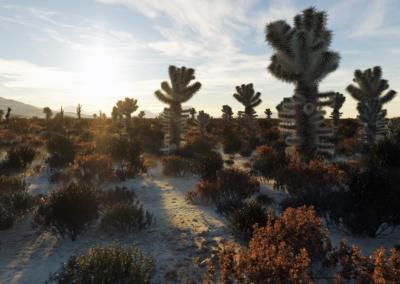 Luc Bianco's Terragen desert scene