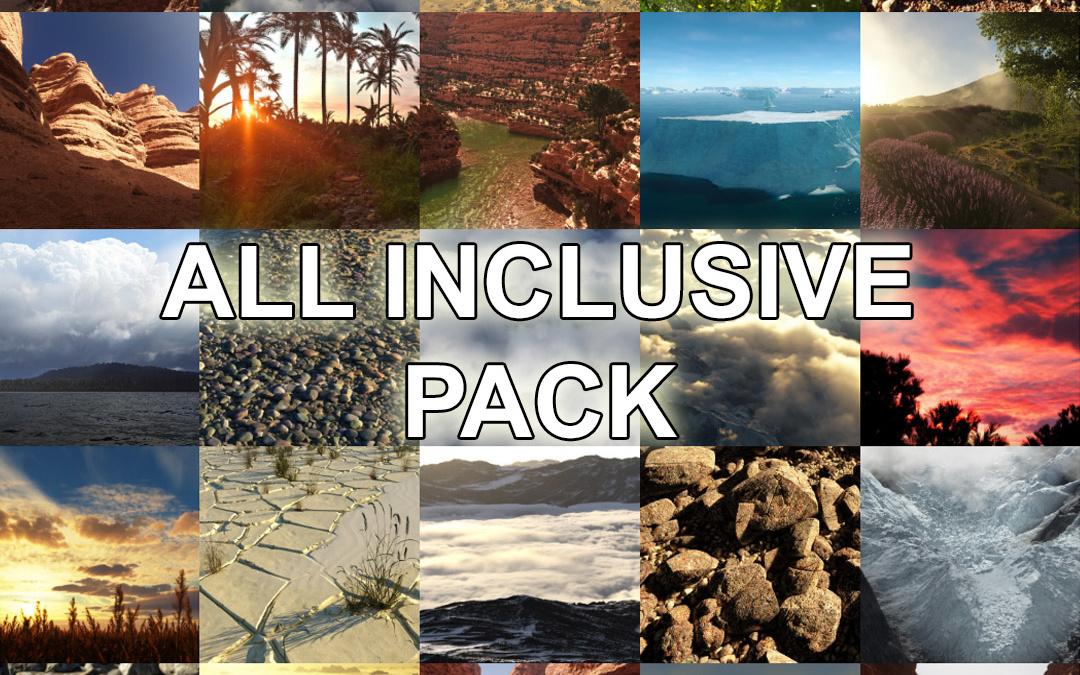 All inclusive pack is available