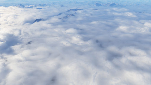 Above warped clouds preset to sale for Terragen 4