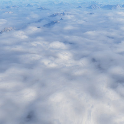 Above warped clouds preset to sale for Terragen 4