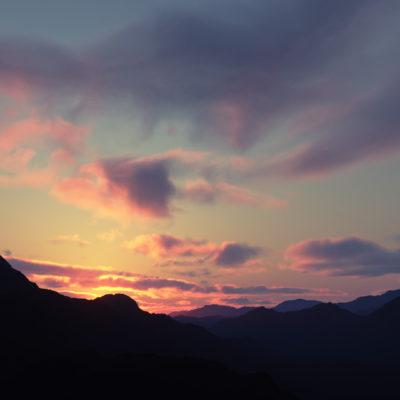 Twilight clouds preset to sale for Terragen 4