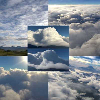 clouds and skies pack v2 for Terragen
