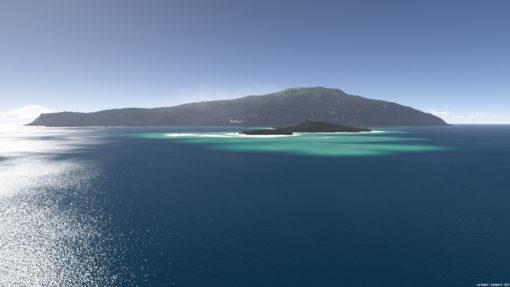 Tropical Island scene for Terragen 4